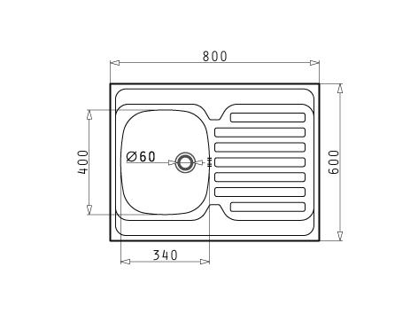 sp le international 80x60 1b 1d reversibel oberfl che glatt. Black Bedroom Furniture Sets. Home Design Ideas