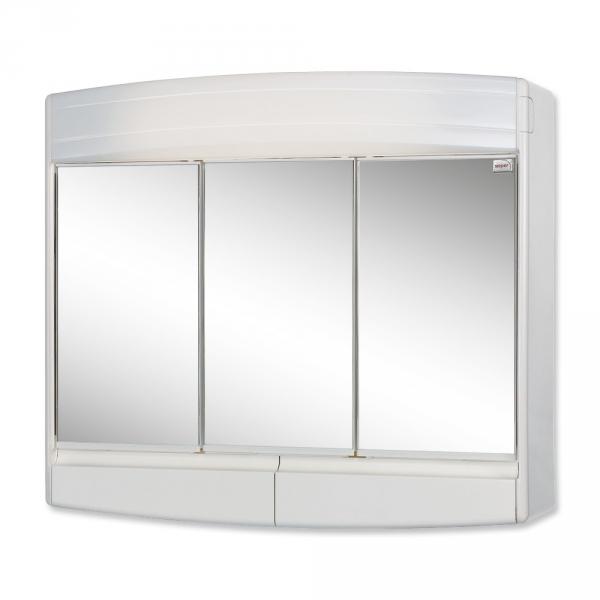 sieper topas eco wei spiegelschrank aus kunststoff ma e
