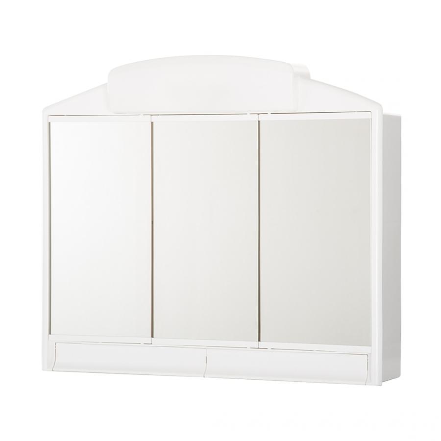 jokey rano wei spiegelschrank material kunststoff ma e b h t. Black Bedroom Furniture Sets. Home Design Ideas