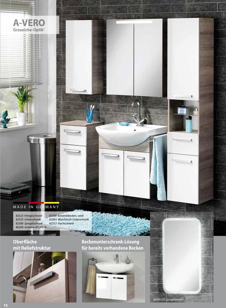 fackelmann a vero halbrund waschtisch aus keramik farbe wei 66. Black Bedroom Furniture Sets. Home Design Ideas