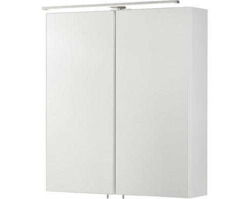 fackelmann spiegelschrank co 60 breite 60 cm farbe korpus wei gl. Black Bedroom Furniture Sets. Home Design Ideas