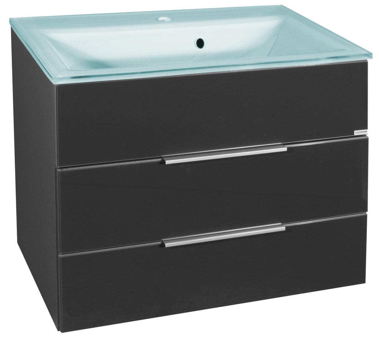 fackelmann kara waschtisch unterbau breite 80 cm farbe anthrazit. Black Bedroom Furniture Sets. Home Design Ideas