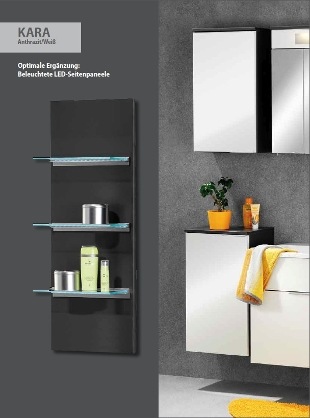 fackelmann kara midischrank 2 t ren breite 61 cm in der farbe wei. Black Bedroom Furniture Sets. Home Design Ideas