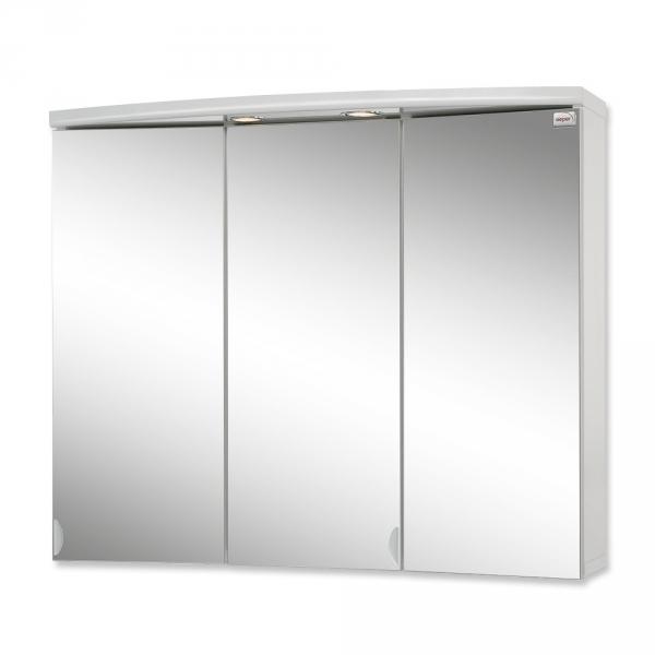 Sieper Ancona LED weiß Spiegelschrank aus MDF/Holz Maße (B/H/T) 8