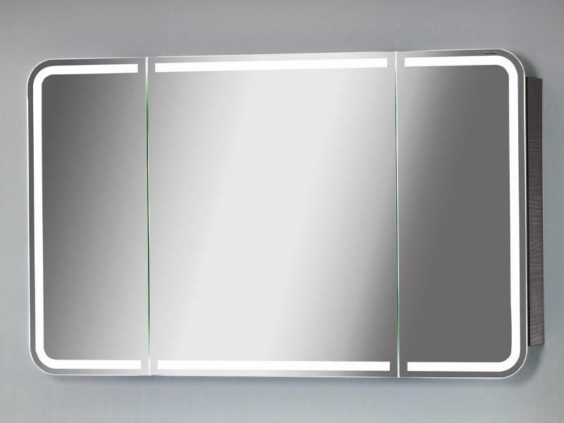 lanzet spiegelschrank m9 mit led beleuchtung korpus farbe wei. Black Bedroom Furniture Sets. Home Design Ideas