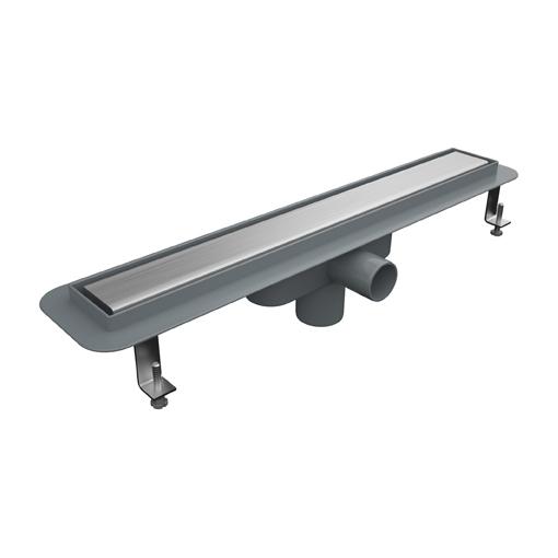 duschrinne l nge 300 mm l nge mit edelstahlrost 304 edelstahl. Black Bedroom Furniture Sets. Home Design Ideas
