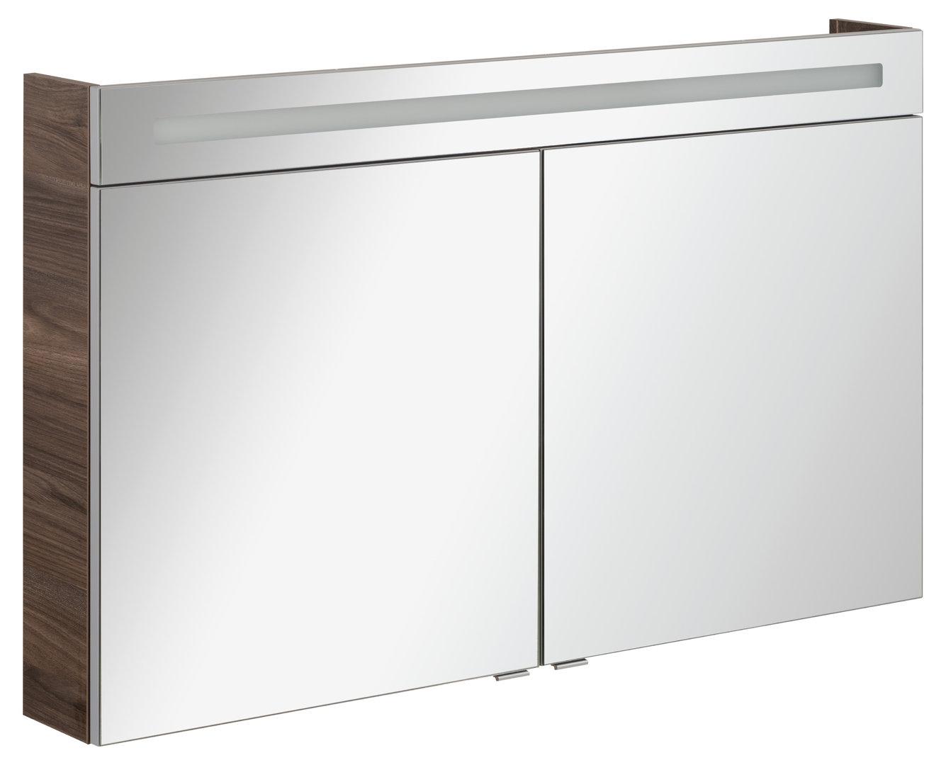 fackelmann led spiegelschrank 10 6 watt 120 breite alask. Black Bedroom Furniture Sets. Home Design Ideas