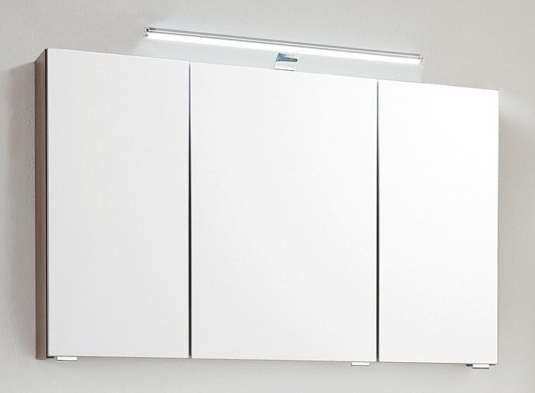 spiegelschrank puris laguna serie b 120cm nur bei uns mit nano. Black Bedroom Furniture Sets. Home Design Ideas