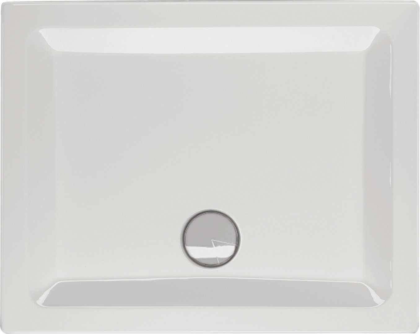 Schröder Wannentechnik Riga E Duschwanne Material Acryl 100x75x5 | {Duschwanne maße standard 84}
