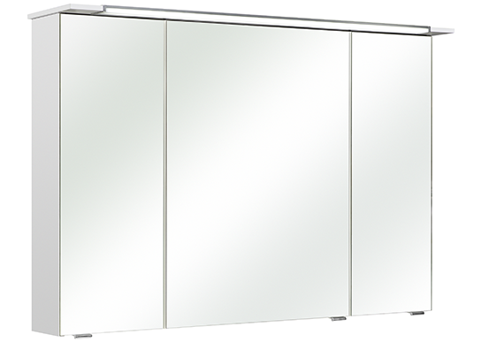 pelipal spiegelschrank licata iii led beleuchtung wei 107x71 cm. Black Bedroom Furniture Sets. Home Design Ideas