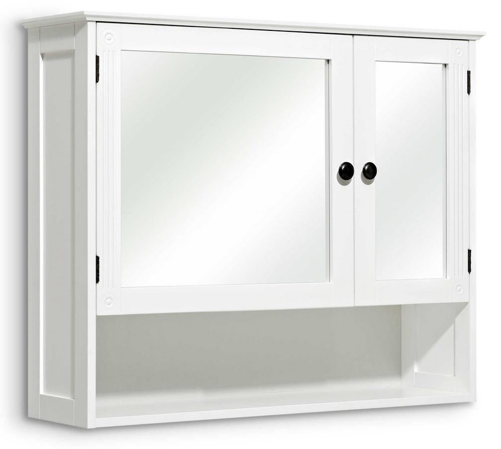 Pelipal Spiegelschrank Maxim Weiß-Glas Maße 76x81 cm