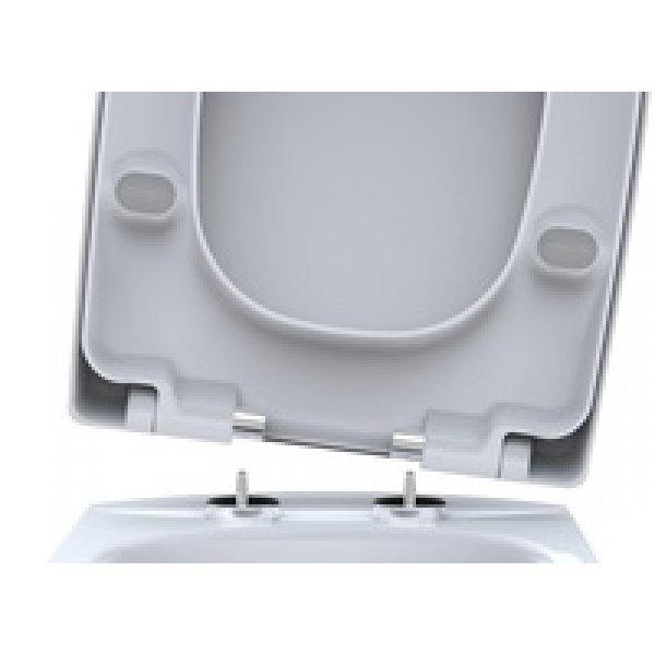 Sehr Gut WC Sitz passend für Keramag Renova Nr.1 Comprimo Absenkautomatik TG42