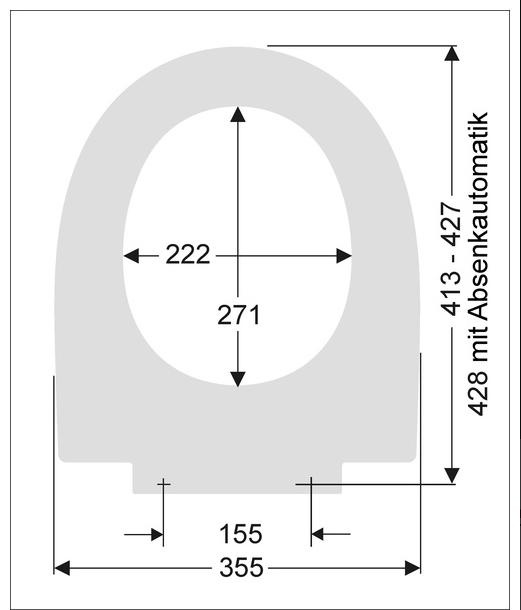 wc sitz passend zu duravit laconda wc abnehmbar. Black Bedroom Furniture Sets. Home Design Ideas