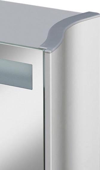 jokey aluwave spiegelschrank material aluminium ma e b h t 66 5. Black Bedroom Furniture Sets. Home Design Ideas
