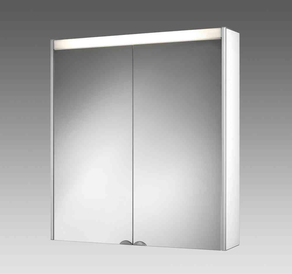 Jokey Dekoralu LS Blende Weiß Spiegelschrank Material Aluminium