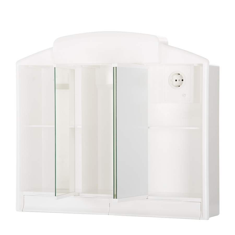 jokey rano wei spiegelschrank material kunststoff ma e b. Black Bedroom Furniture Sets. Home Design Ideas