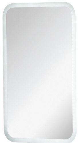Fackelmann Spiegel 45 cm mit umlaufender LED Beleuchtung 9,6 Watt / 12 Volt