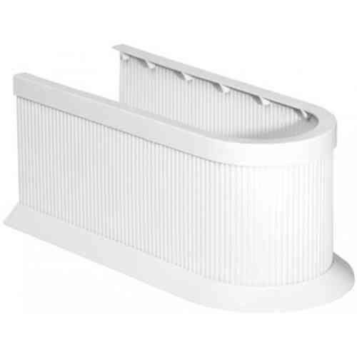 Fackelmann Soneo Siphonverkleidung Farbe Weiß individuell zuschneidbar
