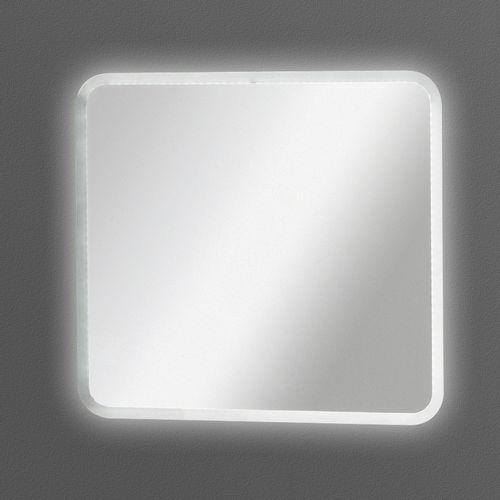 Fackelmann Spiegel 80 cm mit umlaufender LED Beleuchtung 13 Watt / 12 Volt
