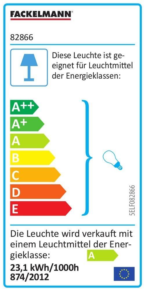 Fackelmann Spiegel AL 110 cm mit Beleuchtung Leuchtstoffröhre und LED-UHR