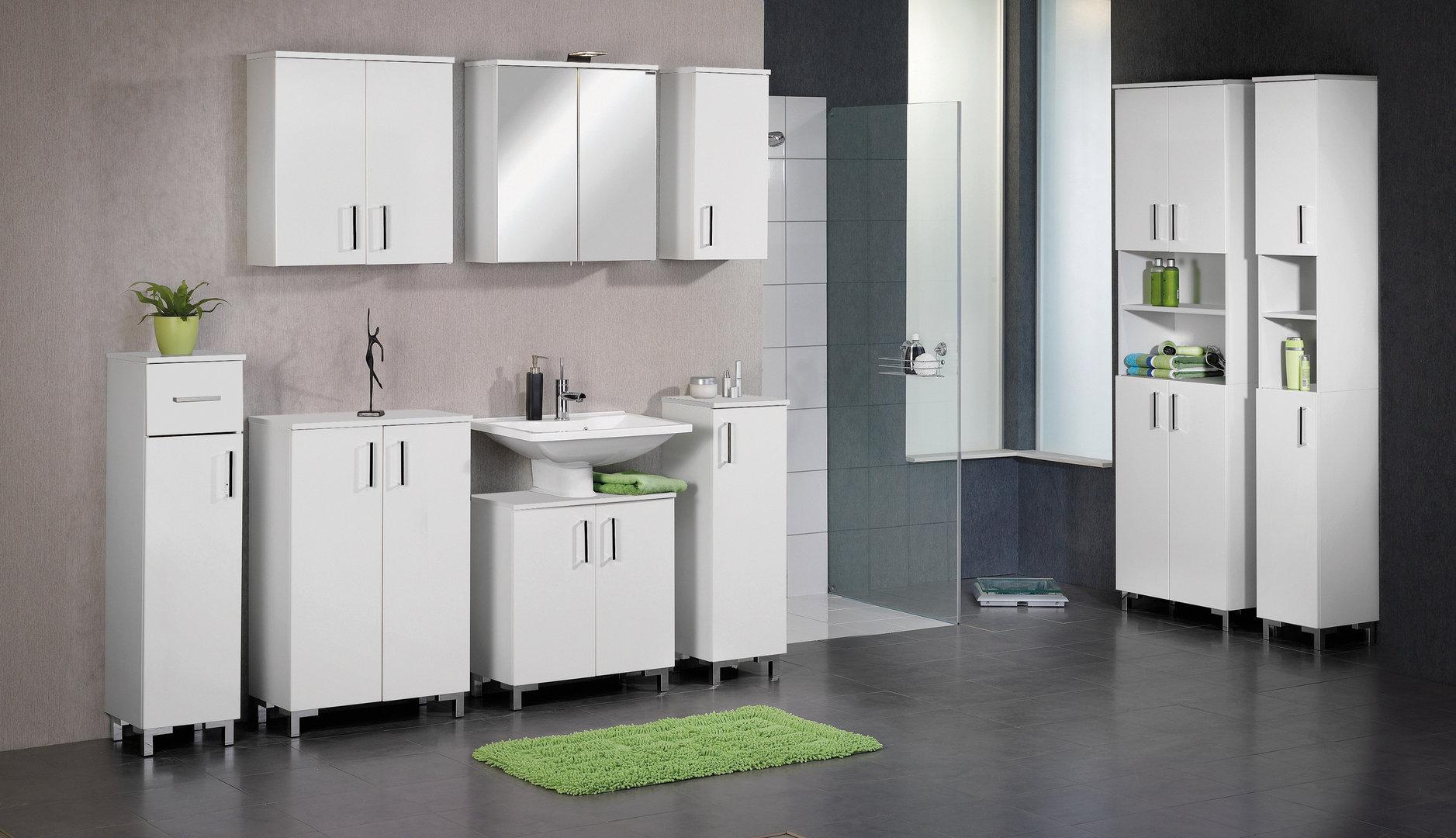 fackelmann atlanta waschtisch unterbau breite 61 cm farbe wei ma. Black Bedroom Furniture Sets. Home Design Ideas