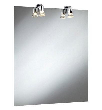 Fackelmann Spiegel 50 cm ohne Beleuchtung inklusive Befestigung
