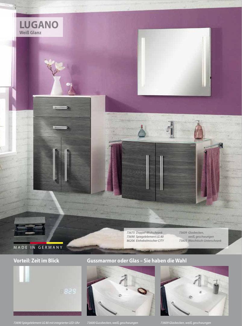 fackelmann lugano waschtisch unterbau links breite 35 cm. Black Bedroom Furniture Sets. Home Design Ideas