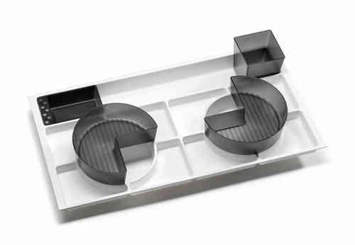 Fackelmann Organisations-Set für Serie Kara, Como, Viora Breite 80 cm