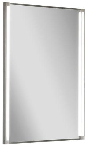 Fackelmann Spiegel 42,5 cm mit Beleuchtung 2 Led-Beleuchtungen 2 x 6 Watt