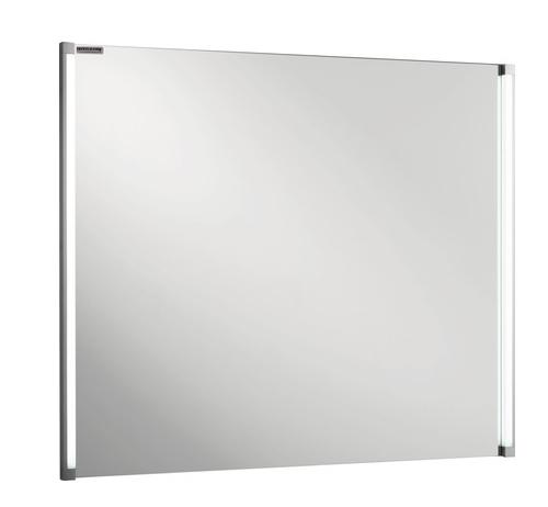 Fackelmann spiegel 80 5 cm breite mit led beleuchtung 2 x for Mazda 5 breite mit spiegel