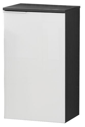 Fackelmann Kara Unterschrank rechts 1 Tür Breite 41 cm Farbe Weiß/Anthrazit
