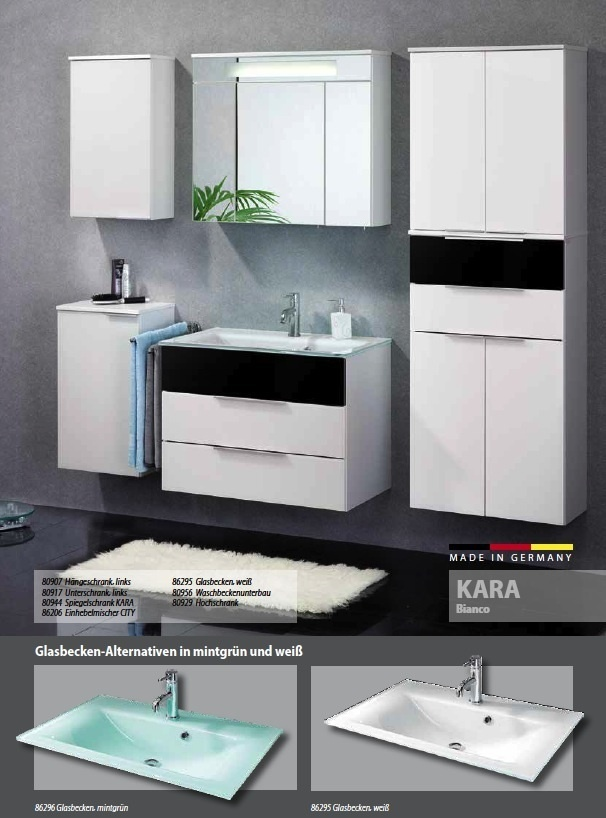 fackelmann kara hochschrank 4 t ren breite 61 cm wei anhtrazit. Black Bedroom Furniture Sets. Home Design Ideas