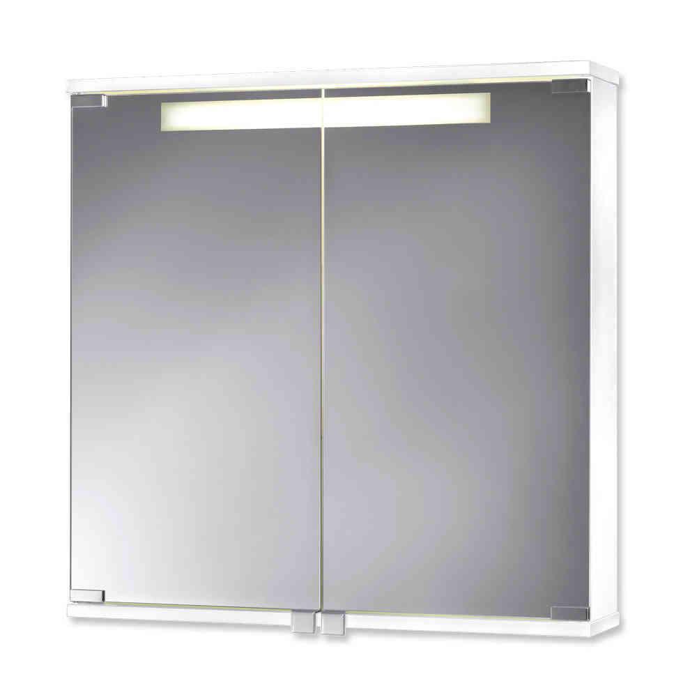 Jokey Cento Farbe Weiß Spiegelschrank MDF/Holz Maße (B/H/T) 60/65