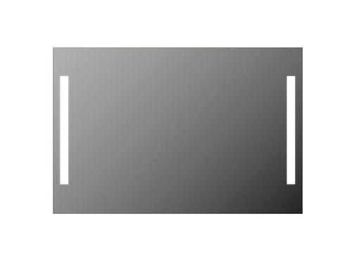 Treos Serie 614.06.8120 LED Wandspiegel hinterleuchtet 2 Leuchtstreifen 120x80cm