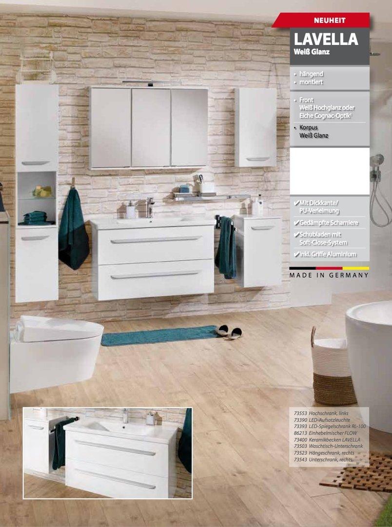 fackelmann led waschbeckenbeleuchtung backlight f r waschtisch. Black Bedroom Furniture Sets. Home Design Ideas