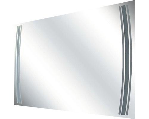 Fackelmann Spiegel RL 100 cm mit LED Beleuchtung und Sensorschalter
