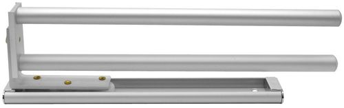 Fackelmann Handtuchhalter-Auszug Aluminium Montage WT-Unterschrank