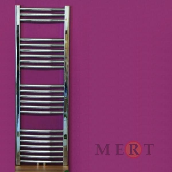 badheizk rper mittelanschluss gerade oberl che chrom 300 x 600 mm. Black Bedroom Furniture Sets. Home Design Ideas
