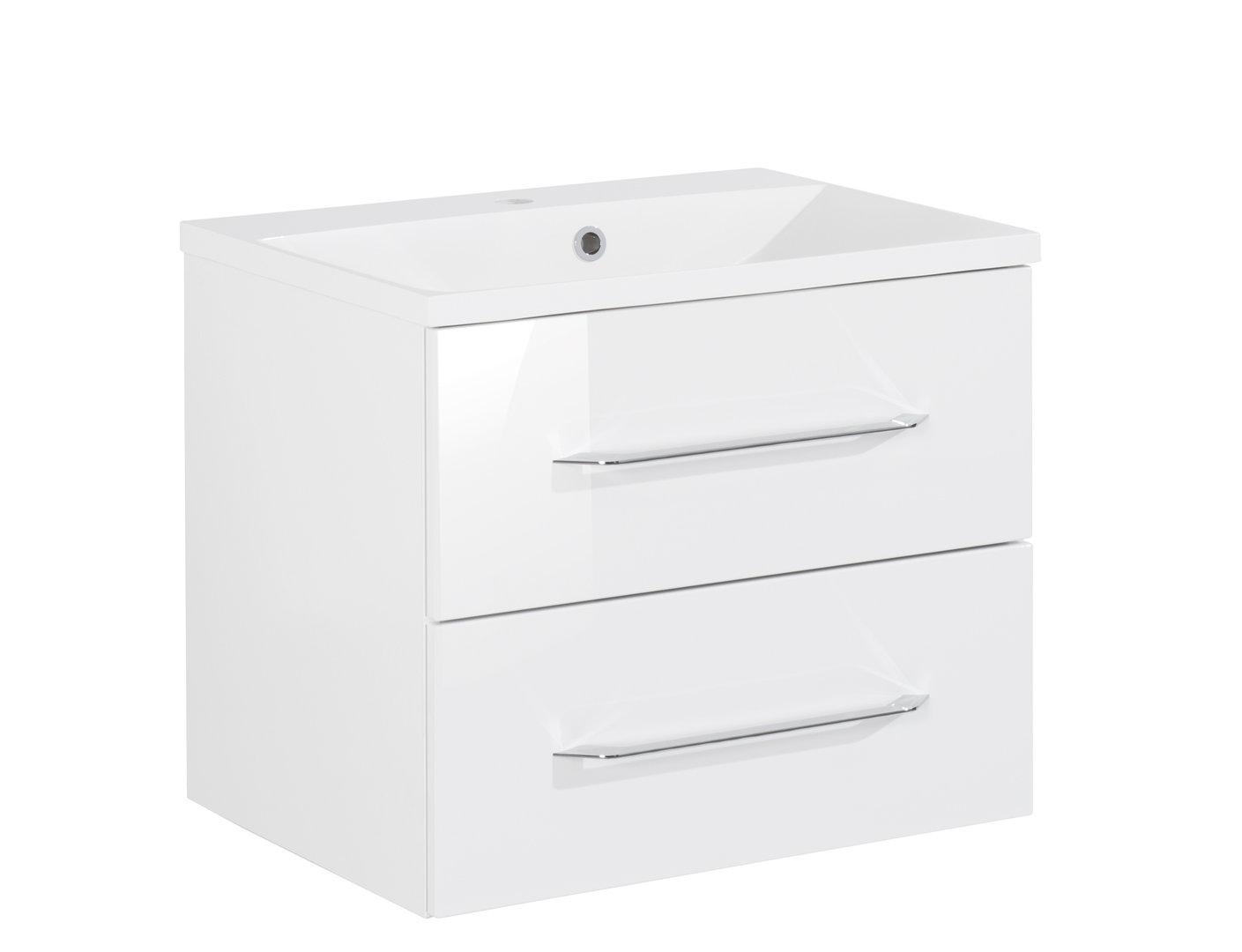 fackelmann waschtisch mit unterschrank 60 cm wei. Black Bedroom Furniture Sets. Home Design Ideas