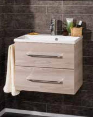 fackelmann waschtisch mit unterschrank 60 alaska esche. Black Bedroom Furniture Sets. Home Design Ideas
