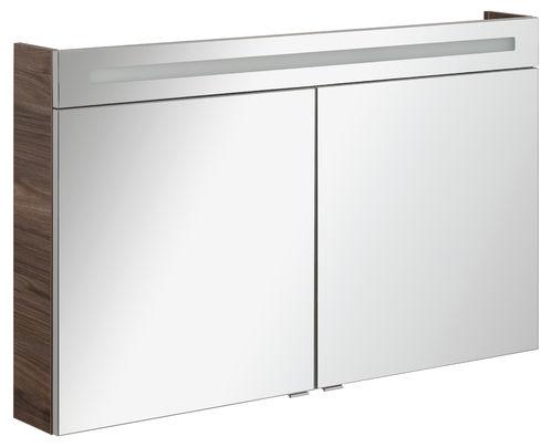 Fackelmann B.clever LED Spiegelschrank 10,6 Watt 120 cm Breite Farbe Weiß
