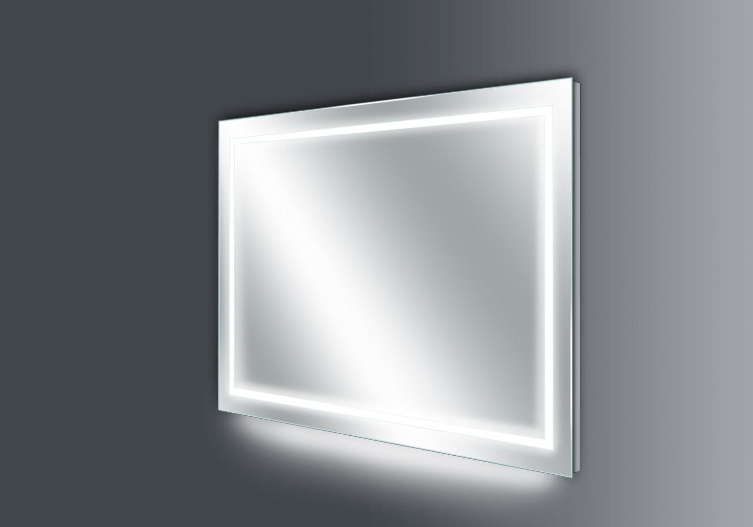 thebalux basic led spiegel heizung 140x70cm w hlbar nano. Black Bedroom Furniture Sets. Home Design Ideas