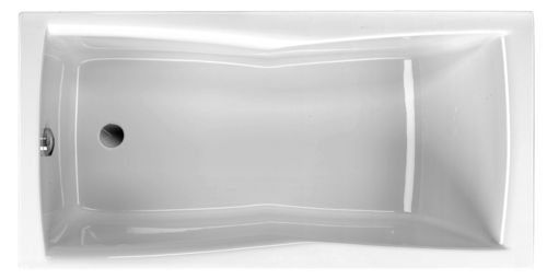 Schröder Wannentechnik Bari Rechteckwanne Acryl Maße 150x75x42,5 cm