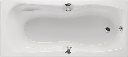 Schröder Wannentechnik Tulu + Griffe Rechteckwanne Acryl Maße 159x74,5x42,5 cm