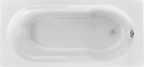 Schröder Wannentechnik Julia Rechteckwanne Acryl Maße 160x75x43,5 cm