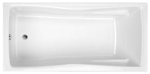 Schröder Wannentechnik Andorra Rechteckwanne Acryl Maße 160x75x45 cm