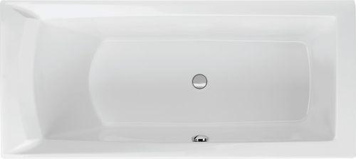 Schröder Wannentechnik Dora links Rechteckwanne Acryl Maße 160x75x50 cm