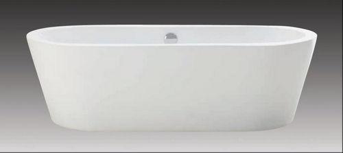Schröder Wannentechnik Spree Freistehende Badewanne Acryl 180x80x54 cm