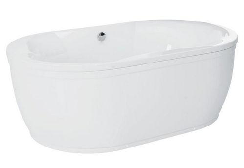 Schröder Wannentechnik Glorus Freistehende Badewanne Acryl 190x83x56 cm