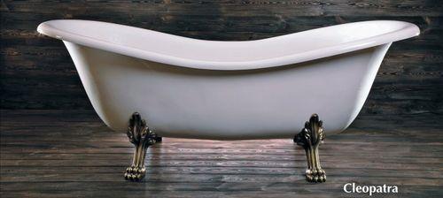 Schröder Wannentechnik Cleopatra Freistehende Badewanne Acryl 188x80x70 cm
